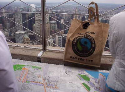 Jutebag Challenge Empire State