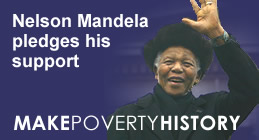 Go to Make Poverty History Website